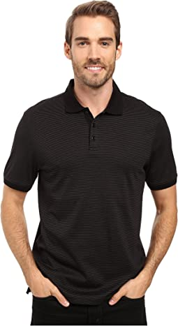 Liquid Cotton Stripe Polo