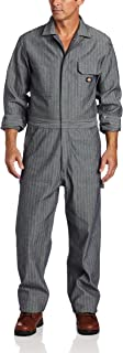 Men's Long Sleeve Fisher Stripe Cotton Coverall