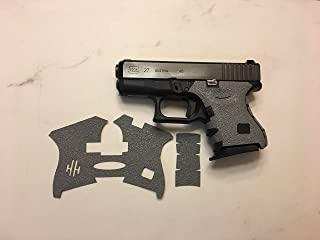Handleitgrips Gray Gun Grip Tape Wrap for Glock 26 and Glock 27 Gen 3