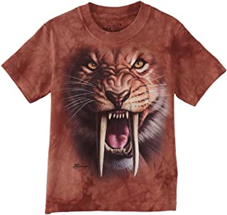 Mountain Sabertooth Tiger Child T Shirt