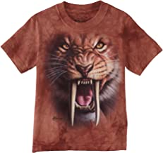 The Mountain Little Boys' Youth Sabertooth Tiger Shirt
