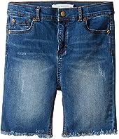Appaman Kids - Raw Edge Denim Shorts (Toddler/Little Kids/Big Kids)