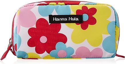 ハンナフラ(Hanna Hula) シングルファスナーポーチ ポップフラワー