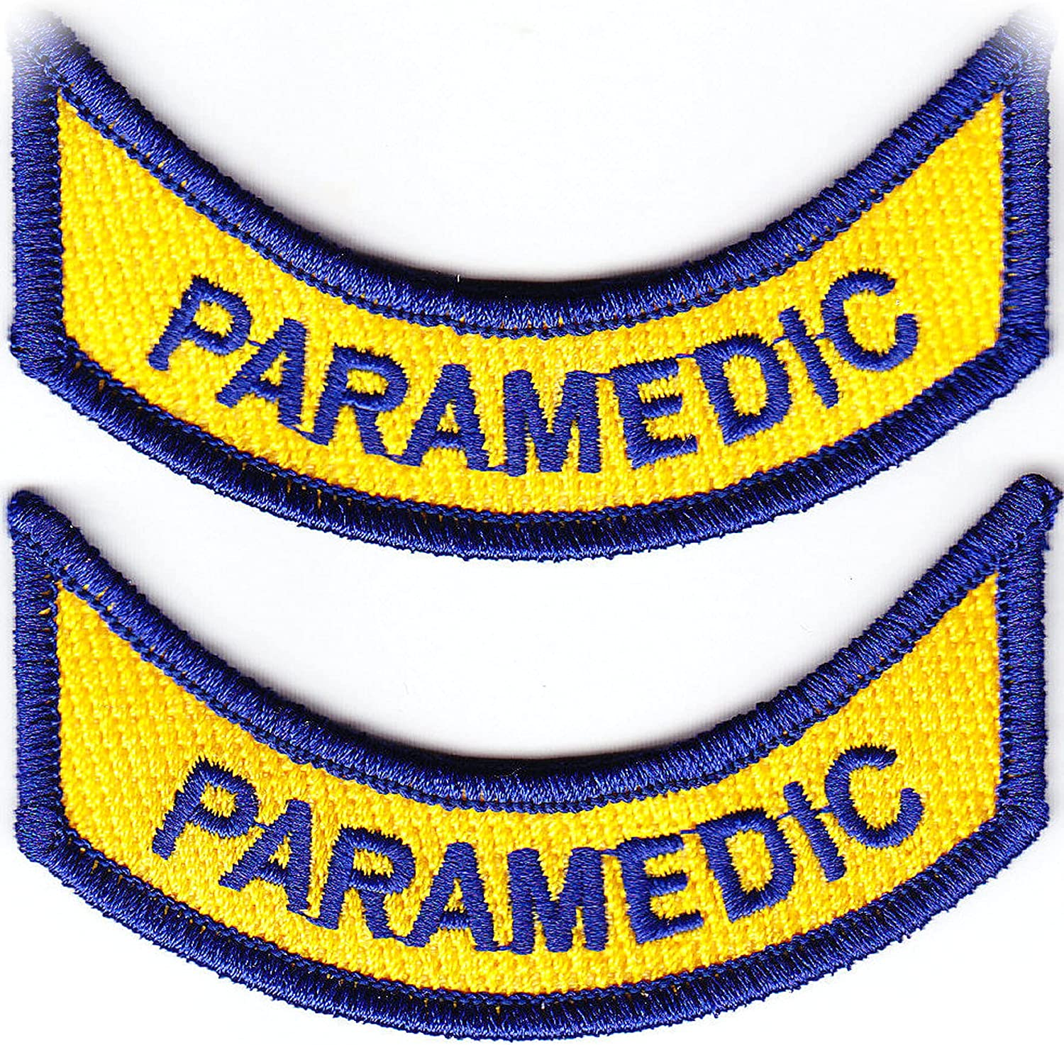 New Virginia Paramedic 2 Rocker tab Direct sale of manufacturer Pair VA products world's highest quality popular Patches 1 LA1212MA