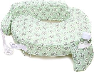 My Brest Friend Original Nursing Posture Pillow, Green Sage Dotted Daisies