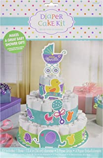 Amscan Baby Shower Diaper Cake Kit