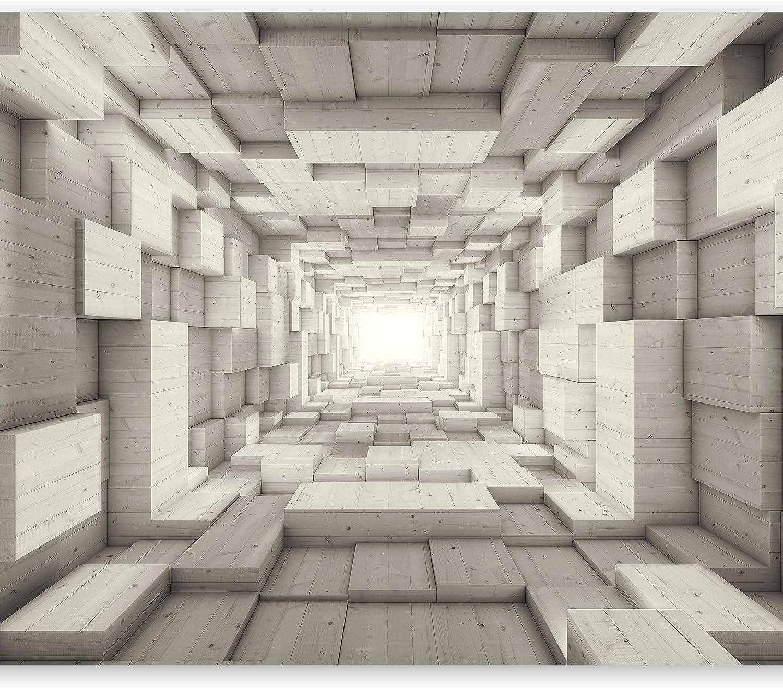 Vlies Fototapete 400x280 cm - 3 Farben zur Auswahl - - - Top - Tapete - Wandbilder XXL - Wandbild - Bild - Fototapeten - Tapeten - Wandtapete - Wand - Tunnel 3D a-A-0125-a-c B01413WEY6 17872b