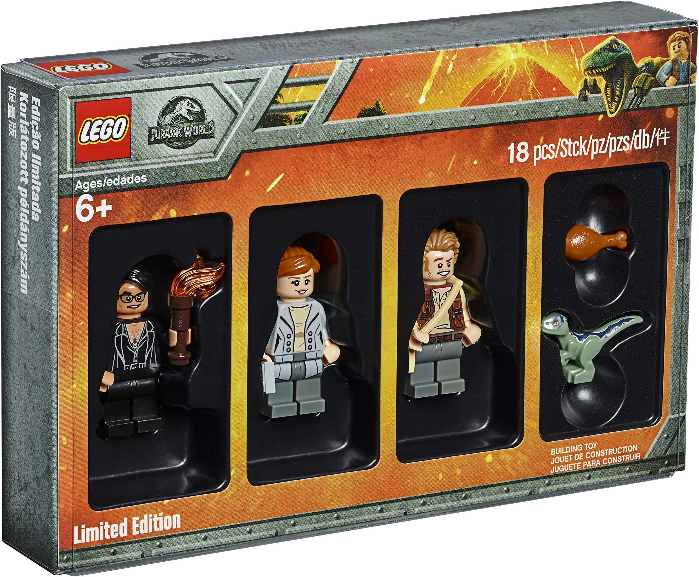 Lego Jurassic World Owen Grady minifigure W// Cycle 75930