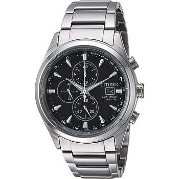 Citizen Men's Silver-Toned 'Eco-Drive' Quartz Titanium Casual Watch (Model: CA0650-58E)