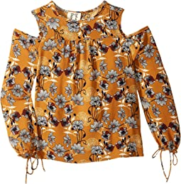People's Project LA Kids - Saffron Woven Blouse (Big Kids)