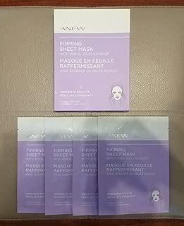 Avon Anew Firming sheet mask with Royal jelly essence box 4 single sheet