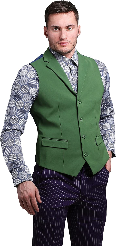 Funsuits The Joker Suit Vest (Authentic) X-Small Green