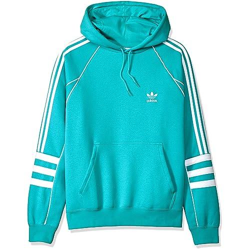 blue and bianca adidas sweatshirt