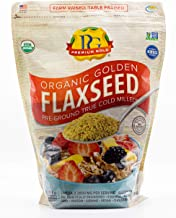 Premium Gold Organic Ground Flax Seed