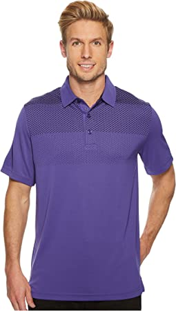 Engineered Gradient Body Map Polo