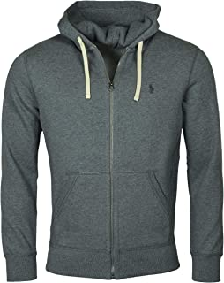 Polo Ralph Lauren Mens Classic Full-Zip Fleece Hooded Sweatshirt