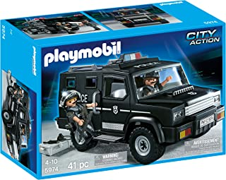 PLAYMOBIL Tactical Unit Car (Discontinued by manufacturer)