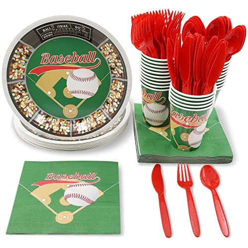 Juvale Baseball Party Supplies For Birthdays And Sports Parties