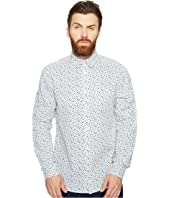 Ben Sherman - Long Sleeve Mod Print Geo Shirt