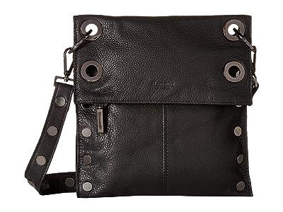 Hammitt Montana Rev Medium (Black/Gunmetal) Cross Body Handbags