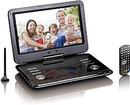 Lenco Tragbarer DVD-Player DVP – DVB-T2 Empfänger – 12 Zoll DVD-Player mit..