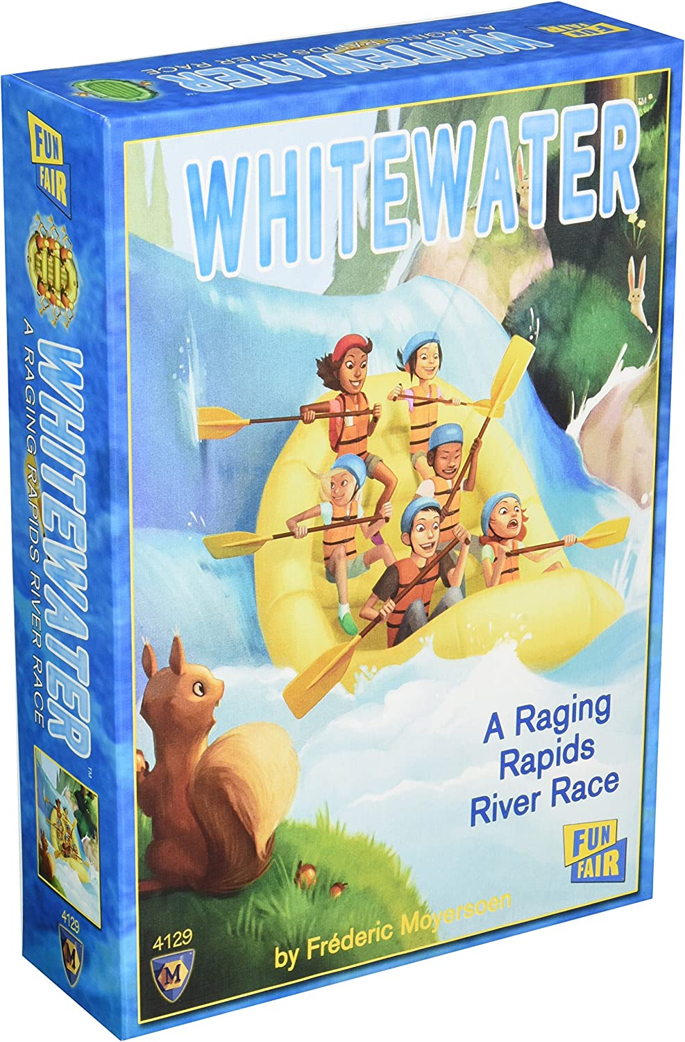 Mayfair Games Whitewater Board and Card Game