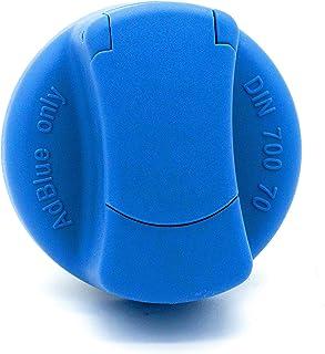 Jost Automotive 382 0001 00 AdBlue Tankverschluss für Mercedes Benz, MAN, Ford, Rheinmetall, blau, 40 mm