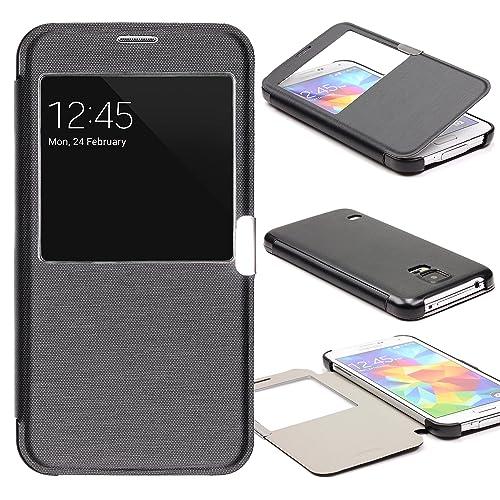 Coque arriere Clapet Samsung Galaxy S5: Amazon.fr
