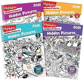 Highlights Hidden Pictures 2021 4-Book Set