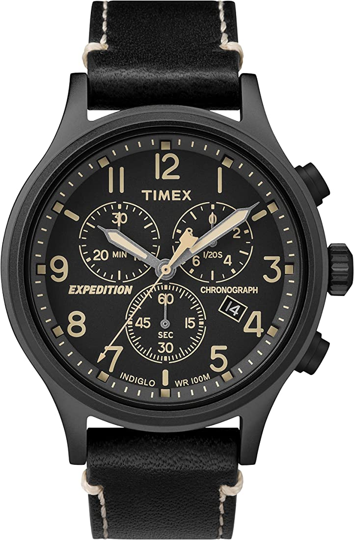 Orologio Timex expedition scout cronografo da uomo, 42 mm TW4B09100