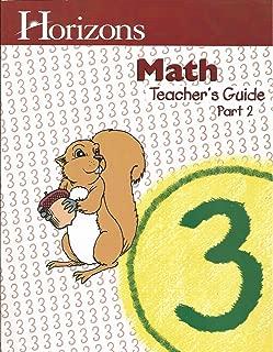 Horizons Math Teacher's Guide Grade3, Part 2
