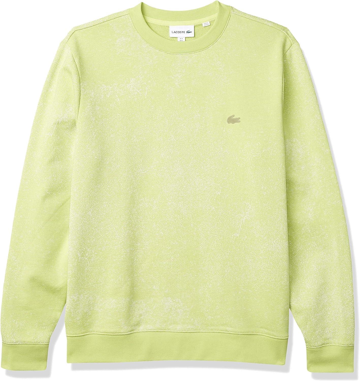 Lacoste Men's Motion Quick Sweatshirt Direct stock discount Max 71% OFF Crewneck Dry