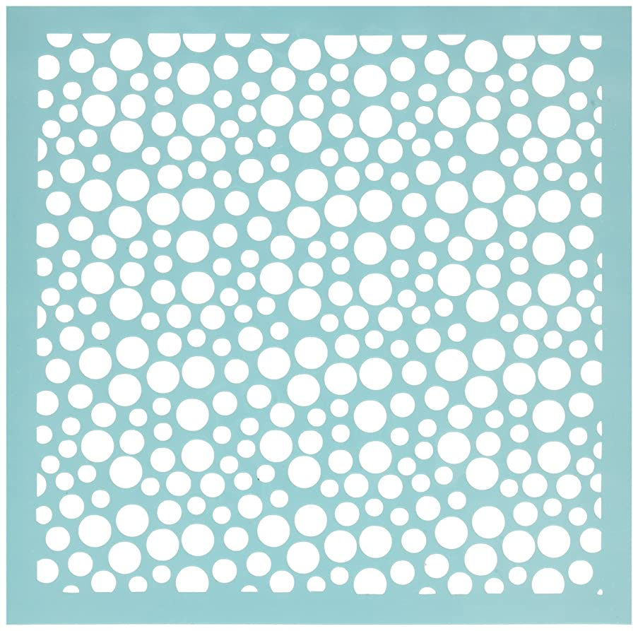 Kaisercraft T605 Scrapbooking Template, 12 by 12-Inch, Bubbles