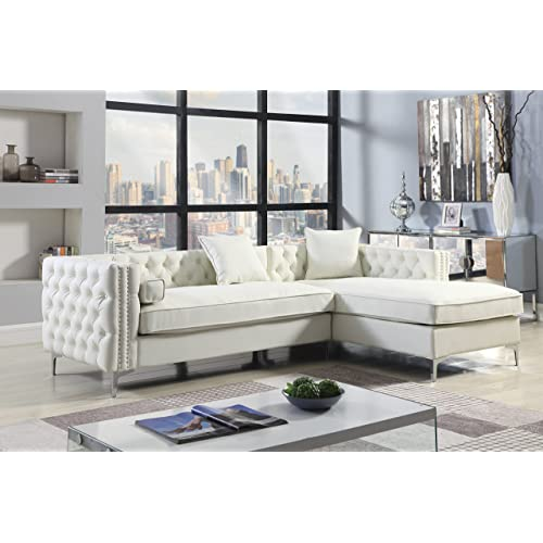 Cream Leather Sectionals: Amazon.com