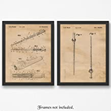 Original Star Wars Light Saber Patents Poster Prints, Set of 2 (11x14) Unframed Photos, Great Wall Art Decor Gifts Under 15 for Home, Office, Studio, Man Cave, Student, Teacher, Comic-Con & Movies Fan