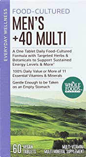 Whole Foods Market, Food-Cultured Men's +40 Multi, 60 ct