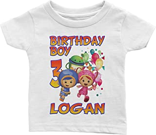 Personalize Umizoomi Birthday Shirt