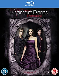 The Vampire Diaries - Season 1-5 2009 Region Free