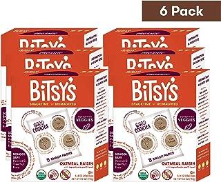 Bitsy's Multi-Pack Good Cookies, Sweet Potato Oatmeal Raisin, 4 Ounce, 6 Count