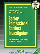 Senior Professional Conduct Investigator(Passbooks)