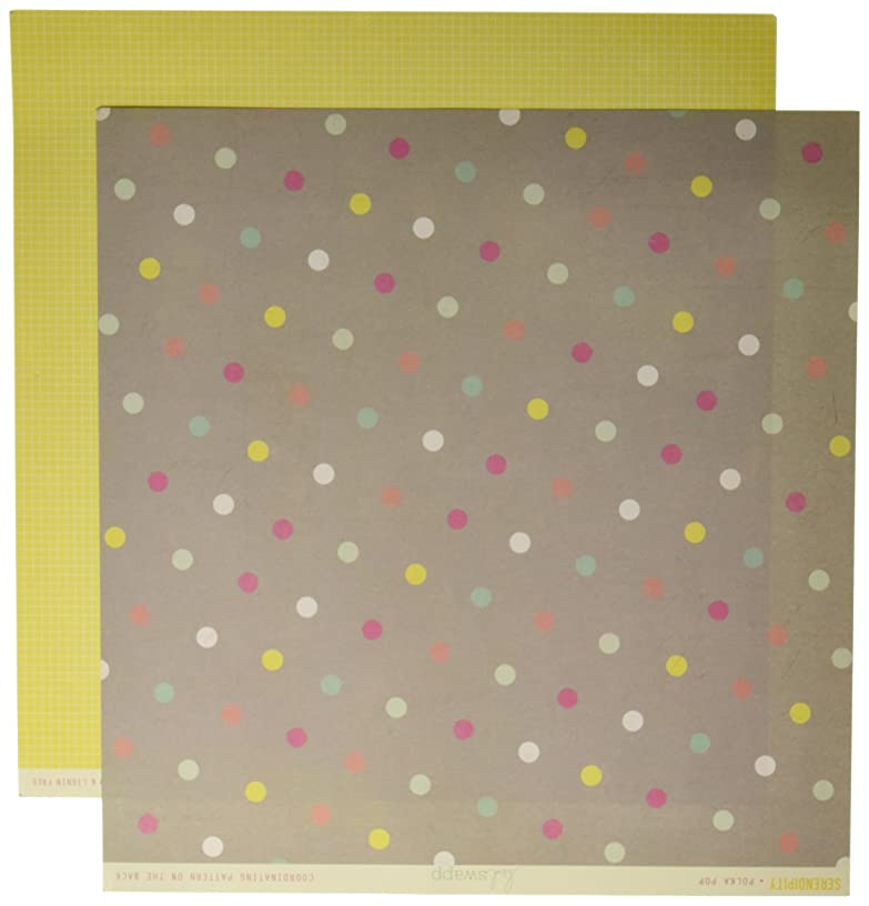 Pink Paislee Serendipity Double-Sided Cardstock 12