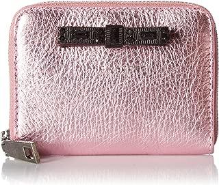 Marc Jacobs Metallic Bow Zip Card Case Wallet
