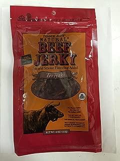 Trader Joe's Natural Beef Jerky - Teriyaki (Pack of 6)