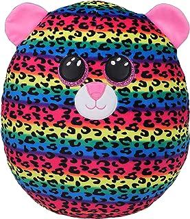 "Ty UK Ltd 2007554 Dot Squishaboo 10"" Leopard kuscheliges Kissen, Multicolor"