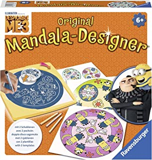 Ravensburger - 29996 - Mandala Designer - Moi, Moche et Méchant 3