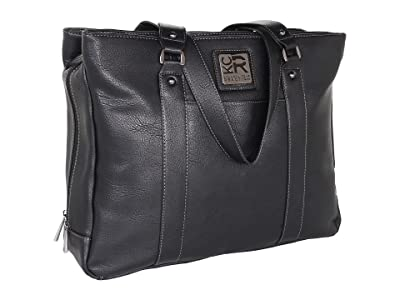 Kenneth Cole Reaction Top Zip 15.4 Computer Tote Pocket (Black) Computer Bags