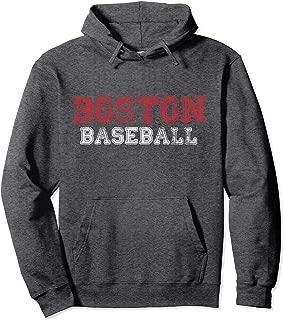 Boston Distressed Pro Baseball Team Championship Hoodie
