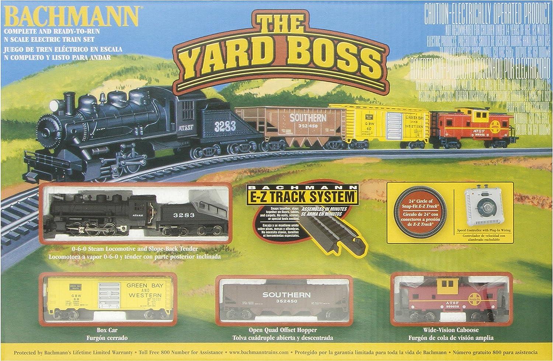 Bachmann Trainiert die Yard Boss Ready-to-Run N Mastab Zug Set
