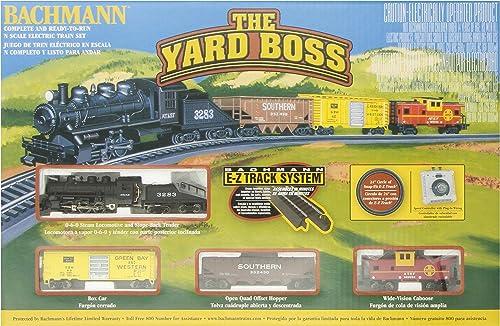 Bachmann Trainiert die Yard Boss Ready-to-Run N Ma ab Zug Set