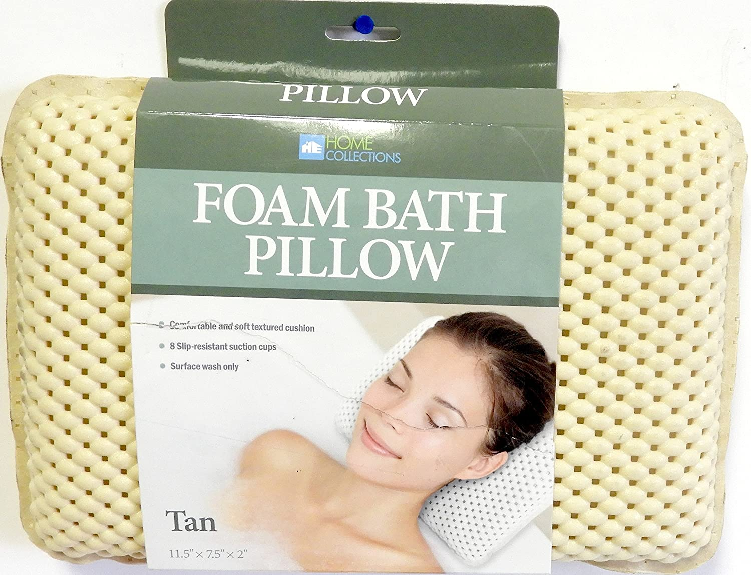 The Original Directly managed Cheap bargain store DINY Bath Foam Suction Featuring Spa Pillow 8
